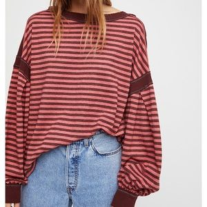 Free People Driftwood Tee